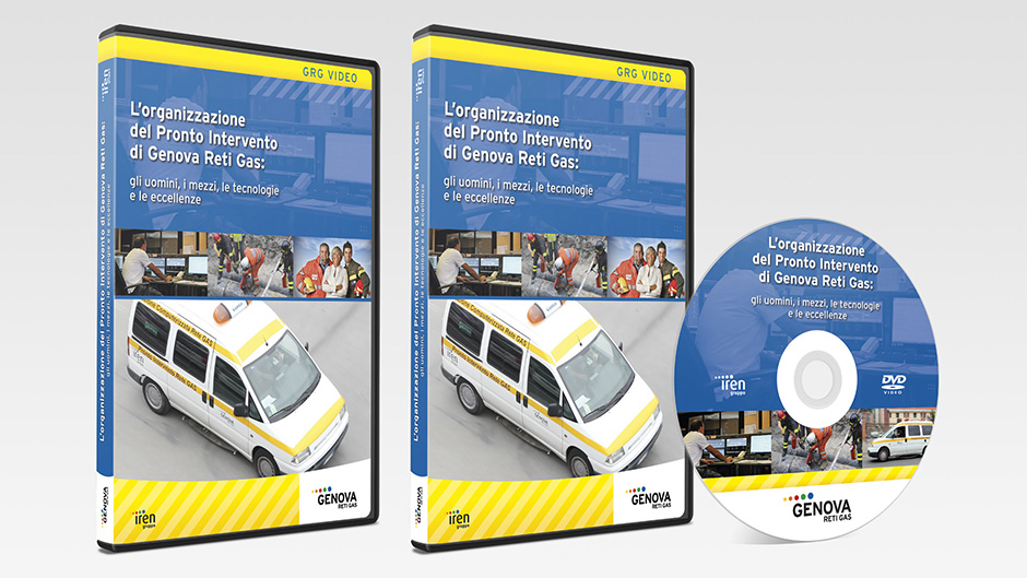 dvd pronto intervento per Genova Reti Gas