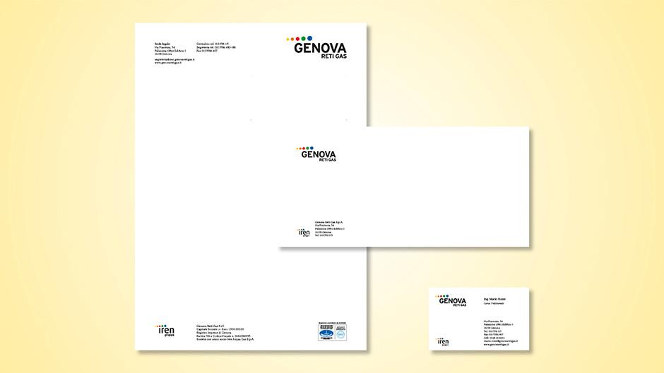 Stationery per Genova Reti Gas