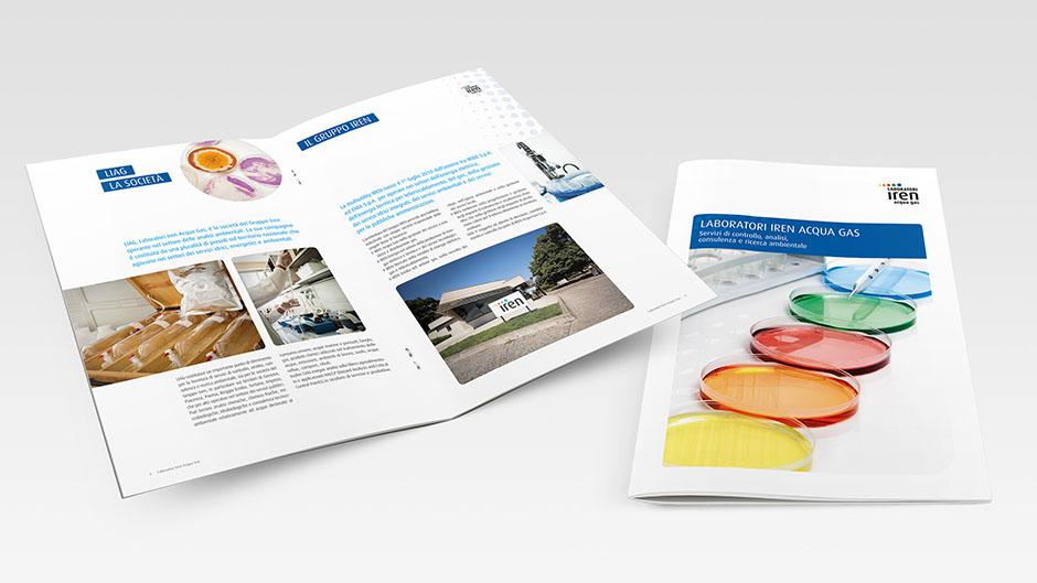 Brochure Istituzionale Laboratori Iren Acqua Gas
