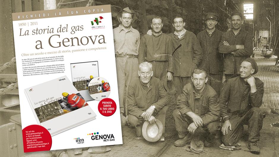 Locandina La storia del Gas a Genova