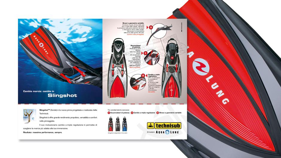 Pagina pubblicitaria Technisub 2008