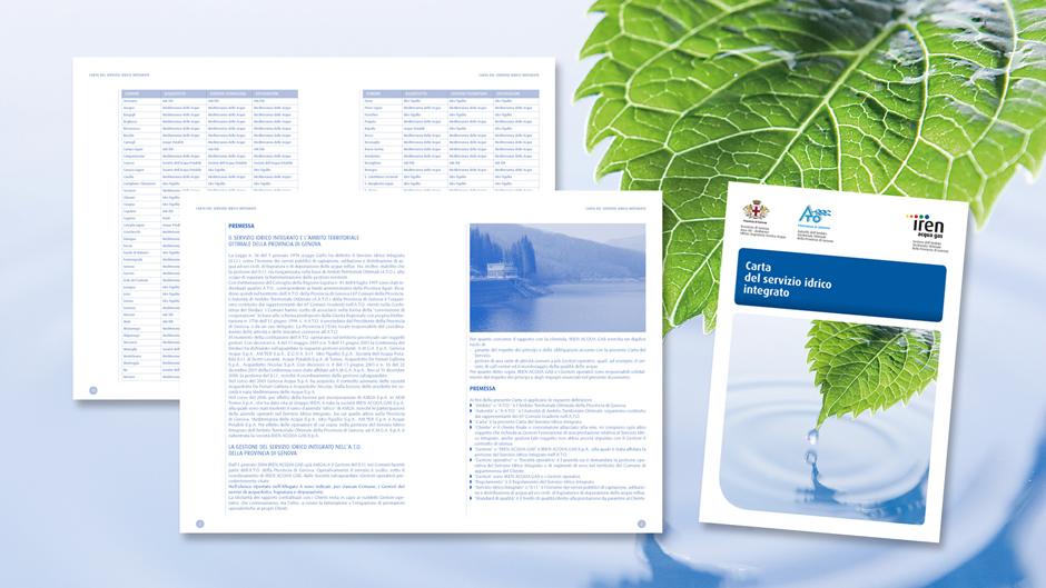 Carta servizio Idrico per Iren Acqua Gas